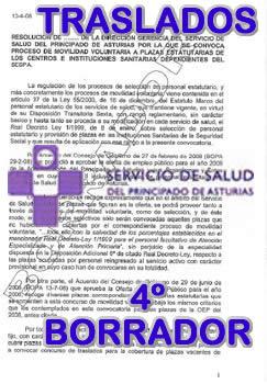 Reunion sespa sindicatos sobre concurso de traslados for Ccoo concurso de traslados